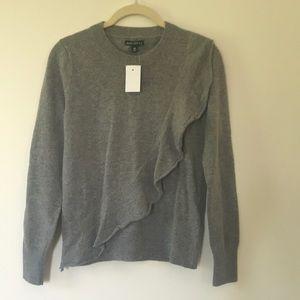 NWT Jcrew Classic sweater with added twist 🍭